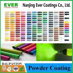 Pulverización electrostática en polvo RAL acabado de textura, revestimiento de polvo para productos de metal