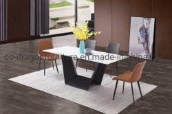Современная мебель U ног обеденный стол с верхней части