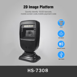 China krachtig 2D Scanning Platform barcodescanner QR Code Reader (HS-7308)