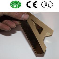 Sinais de bronze Não-Iluminados alta qualidade da letra do aço inoxidável dos sinais da letra