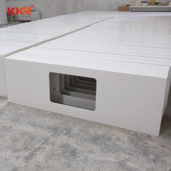 Prefab Countertop van de Keuken van Corian van de Steen van de Oppervlakte van het Project Acryl Stevige