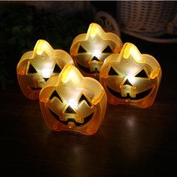 Светодиод тыквы Хэллоуин тыкву фонарь освещения LED тыквы интерьер