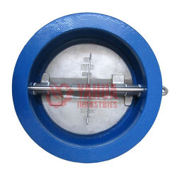 DIN ou ANSI da válvula de retenção de placa dupla