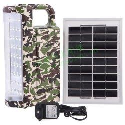 태양 램프 및 태양 손전등 육군 색깔 손전등