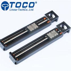 China Factory Barato preço 400mm de comprimento de parafuso esférico do Módulo de Movimento Linear do trilho guia linear