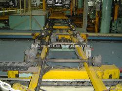 Часть передачи (цепь, цепное колесо, ролик, мотор) для системы транспортера