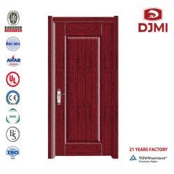 Gana madeira de teca folheado de porta de madeira estratificada Porta Red Meranti porta de madeira