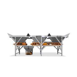 고온 판매 품질 콘크리트 모르타르 배치 공장 일괄 기계 배치 믹서 기계