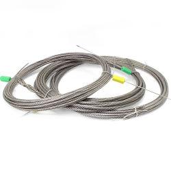 Ss 304 316 7X19 4mm 5mm Corda de arame de aço inoxidável