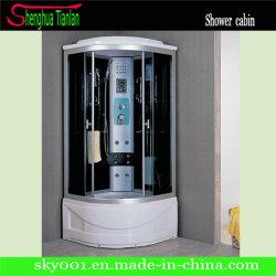 Coin TV coulissante en verre Boîte de Douche Salle de bains de vapeur (TL-8856)