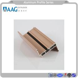 Het Profiel van het aluminium en Uitgedreven Profiel met Minnaar en het Samengestelde Comité van het Aluminium voor Het Huis van de Gordijngevel en van het Aluminium