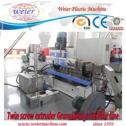 Parallel Twin vis PE PP PVC Ligne Productiion WPC Pellets
