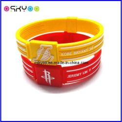 Personnaliser le logo de Club de Baseball Basketball Football Soprt bracelets