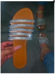 공장 형식 여자 숙녀 단화 슬리퍼 샌들을%s 편평한 발뒤꿈치 슬리퍼