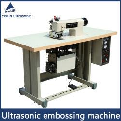 使い捨て可能な操作のコートのための超音波浮彫りになる機械