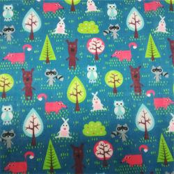 Custom Printed Cotton Voile Fabric Voor Sjaal