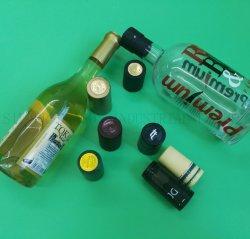 De Hitte van pvc - inkrimpbare Capsule voor de Verbindingen van de Fles van de Alcoholische drank