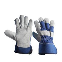 جلد أزرق مقسّم بقر يعمل جلد كامل سلامة النخيل مع شهادة CE
