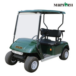 Свинцово-кислотного аккумулятора на базе 2-местный поле для гольфа тележки с маркировкой CE (ГД-C2)