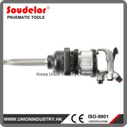 El tornillo de neumático de camión de 1 pulgada de aire de la llave de impacto conjunto de herramientas neumáticas