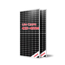 Longi Solarmodul Tier 1 Halbsolarzelle Solarstrom Panel Mono PERC 440W 445W 450W 455W Solarpanel