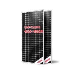 Longi Module Solaire Panneau Solaire de niveau 1 de puissance mono Perc 440W 445W 450w panneau solaire 455W