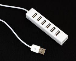 Novo design do hub USB de 7 portas