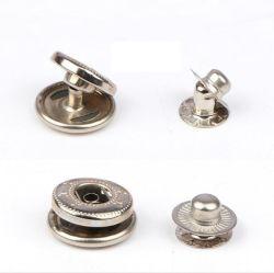 금속 스냅 버튼 리드 및 니켈 분리 부품 4개
