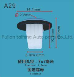 Auto Clip Renault / Renault fixations Automobile / oeillet Clip en plastique noir