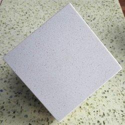 Diamond azulejos de quartzo branca Polar Laje de Pedra de quartzo
