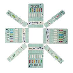 高品質の5つのパネルの薬剤テストキットをテストする乱用のマルチ尿の薬剤