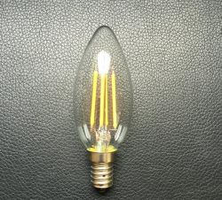 Cristal de hielo C35 de luz LED lámpara de incandescencia LED Lámpara de Edison de iluminación de velas E14.