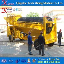 Mobile Gold Mining Tromel شاشة آلات التعدين معدات التعدين
