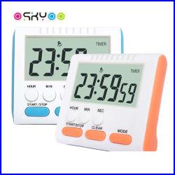 24 Horas da memória do relógio de cozinha cozinha electrónico multifunções Timer Alarm