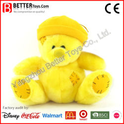 La promoción de felpa suave Peluche parche osito de peluche juguete para niños y los niños