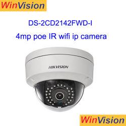 4 Megapixel H. 264 SD 카드 WDR CCTV Hikvision 돔 무선 WiFi P2p IP 감시 카메라 Ds 2CD2142fwd 나