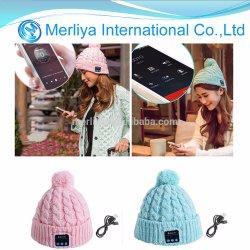 Cuffia calda del cappello di musica di Bluetooth del Beanie della protezione Hands-Free senza fili di musica