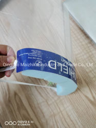 Máscara de Material Pet descartáveis Protetor de rosto Olhos Máscara de protecção contra a febre aftosa em stock