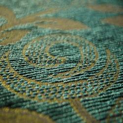 Chenille Material (FTH31410)著緑のソファーの布