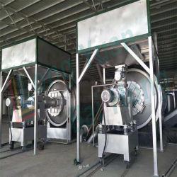 Alimentação automática de baixo preço Pirólise Semicontínua equipamento para o processamento de pneus de borracha de plástico