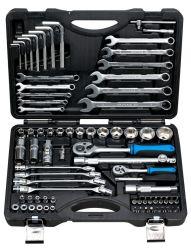 Fixtec 76ПК на базе профессионального ремонта автомобилей набор инструментов под торцевой ключ
