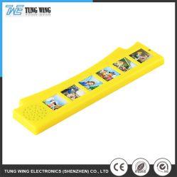 Печати красочных Electronics звуковой модуль адресной книги с шестью кнопку