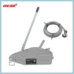 La caja de aluminio extractor polipasto de cable de acero