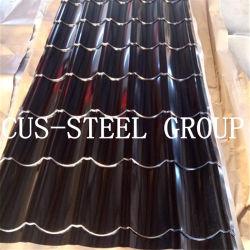 製造業者は艶をかけられたプロフィールによって波形を付けられた屋根シートを着色するか、または金属の屋根ふきシートをPrepainted