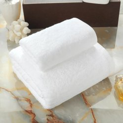 Commerce de gros 100% coton Accueil coton brodé Serviette de toilette (JRD006)