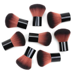 1PC het zwarte Gezicht van de Borstel van het Poeder van de Borstels van de Make-up Kosmetische bloost de Hulpmiddelen van de Make-up van de Borstel van Kabuki van de Borstel van de Contour met de Eigenschappen van de Zak: De Gloednieuwe Make-up Brusheshigh Qual van 100%