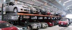 Estacionamento com 2 camadas de levantamento de imobilização automático Simples