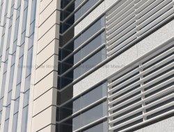 El revestimiento exterior de vidrio y aluminio y el panel de metal muro cortina vidriado estructural