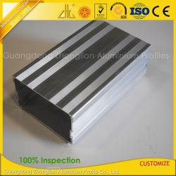 Customzied Aluminiumstrangpresßling-Gehäuse für elektrische Fahrzeug-Aufladeeinheiten