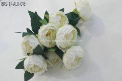 Haute qualité de la soie artificielle de fleurs de pivoines pivoine artificielle pour le parti de décoration et de la maison